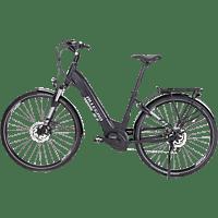 ALLEGRO City S LTD Citybike (28 Zoll, Rahmenhöhe: 28 Zoll, Unisex-Rad, 400 Wh, Schwarz)
