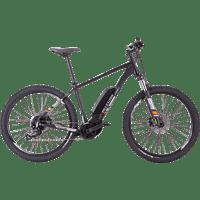 ALLEGRO E MTB X-Cross Mountainbike (Laufradgröße: 27,5 Zoll, Unisex-Rad, 400 Wh, Schwarz)