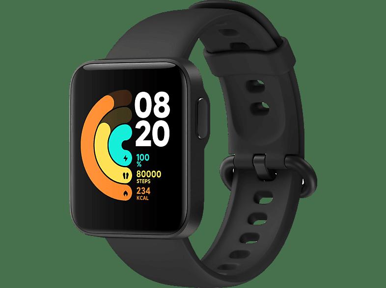 Xiaomi Mi Watch Lite, Connected Watch, 120 mm + 90 mm, Black
