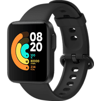XIAOMI Mi Watch Lite, Smartwatch, 120 mm + 90 mm, Black
