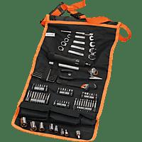 BLACK & DECKER 77-tlg. Handliche Roll-Tasche mit  Autowerkzeug-Zubehör A7063-QZ