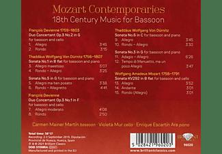VARIOUS - Mozart Contemporaries:18th Century  - (CD)