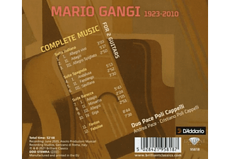 VARIOUS - Gangi:Complete Music For 2 Guitars  - (CD)