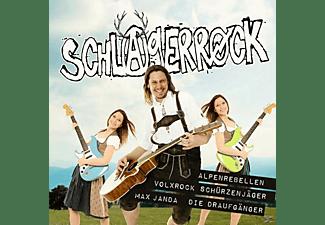ALPENREBELLEN,VOLXROCK,SCHÜRZENJÄGER - Schlagerrock  - (CD)