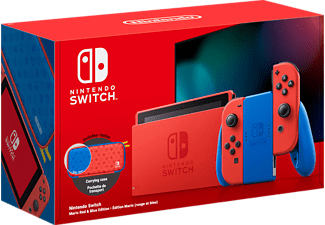 NINTENDO Switch Mario Rood / Blauw Editie