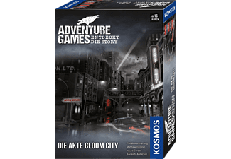 KOSMOS Adventure Games - Die Akte Gloom City Gesellschaftsspiel Mehrfarbig