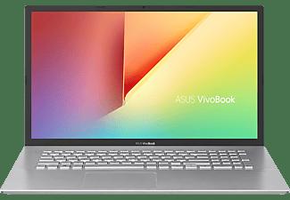 ASUS VivoBook R754JA-AU305T, Notebook mit 17,3 Zoll Display, Intel® Core™ i7 Prozessor, 8 GB RAM, 512 GB SSD, Intel® UHD Graphics, Transparent Silver