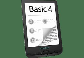 POCKETBOOK Basic 4 Black  8 GB eBook-Reader Schwarz