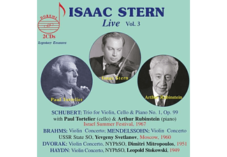 Isaac/rubinstein/tortelier/stokowski/+ Stern - Isaac Stern: Live,Vol.3  - (CD)