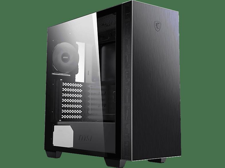 MSI MPG SEKIRA 100P PC Gehäuse, Schwarz