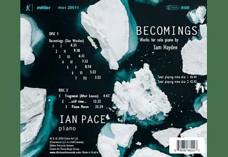 Ian Pace - BECOMINGS  - (CD)