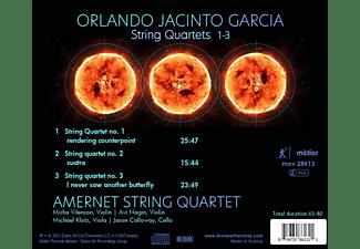 Amernet String Quartet - STRING QUARTETS 1-3  - (CD)