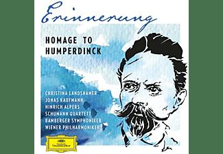 VARIOUS, Richard Wagner, Engelbert Humperdinck - Erinnerung-Homage To Humperdinck  - (CD)