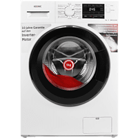 KOENIC KWM 9112 B INV WASHING MACHINE  Waschmaschine (9 kg, 1400 U/Min., B)