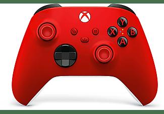 Mando - Microsoft Xbox Pulse Red, Para Xbox Series, Inalámbrico, Bluetooth, Rojo