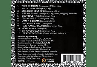 Steve Strongman - TIRED OF TALKIN'  - (CD)