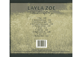 Layla Zoe - NOWHERE LEFT TO GO  - (CD)