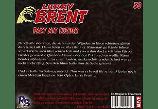Larry Brent - Pakt mit Luzifer-Folge 38  - (CD)