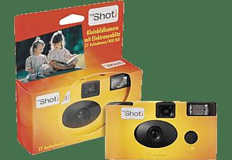 TOPSHOT Einwegkamera 400 Flash, 27 Farbfotos, ISO 400, mit Blitz, Orange