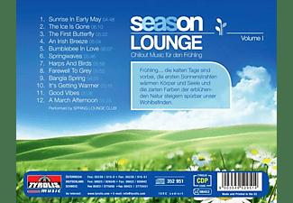 Spring Lounge Club - Season Lounge - Chillout Music Für Den Frühling  - (CD)