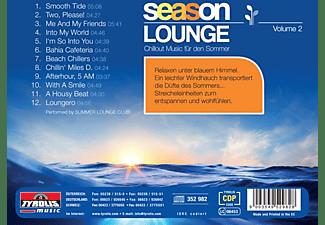 Summer Lounge Club - Season Lounge - Vol. 2  - (CD)