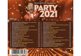 VARIOUS - Ross Antony präsentiert:Party 2021  - (CD)