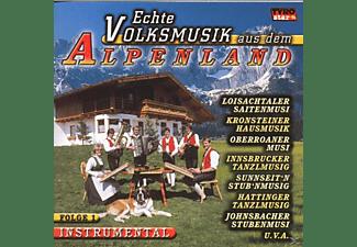VARIOUS - Echte Volksmusik Aus Dem Alpenland  - (CD)