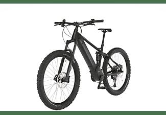 FISCHER Montis 6.0I Fully Mountainbike (Laufradgröße: 27,5 Zoll, Rahmenhöhe: 44 cm, Unisex-Rad, 504, Schwarz)
