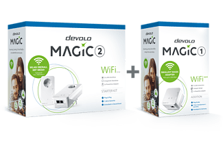 DEVOLO Magic 2 WiFi next Starter Kit + WiFi mini Adapter