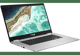 ASUS ChromeBook C523NA-EJ0123, Notebook mit 15,6 Zoll Display, Intel® Celeron® Prozessor, 4 GB RAM, 64 GB eMMC, Intel® HD Graphics 500, Silver
