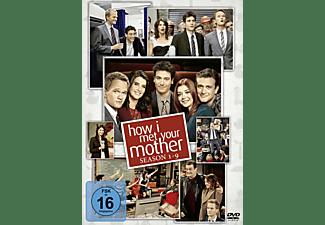 HOW I MET YOUR MOTHER KOMPL.BOX 1-9 DVD