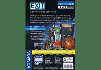 KOSMOS EXIT - Das verfluchte Labyrinth Brettspiel Mehrfarbig