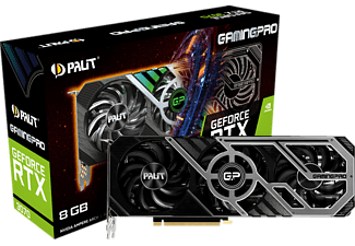 PALIT GeForce RTX™ 3070 GamingPro (NE63070019P2-1041A) (NVIDIA, Grafikkarte)