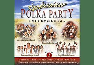 VARIOUS - Oberkrainer Polka Party 1 Instrumental  - (CD)