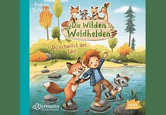 Andrea Schütze - Wilde Waldhelden-Du schaffst das,Leo!  - (CD)