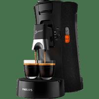 PHILIPS SENSEO® Select CSA240/20 Kaffeepadmaschine Padmaschine, Schwarz gesprenkelt