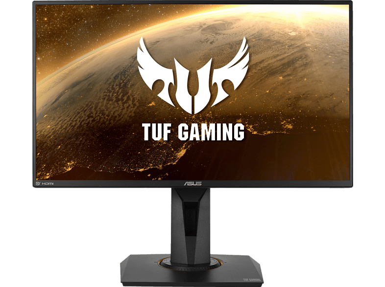 ASUS VG259QR 24,5 Zoll Full-HD Gaming Monitor 1 ms Reaktionszeit, 165 Hz