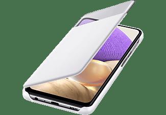 SAMSUNG S-View Wallet Cover für Galaxy A32 4G, Weiß