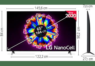 "TV LED 65"" - LG 65NANO906NA, UHD 4K, 3840x2160 píxeles, alfa7 Gen3, HDMI,USB 2.0, Negro"