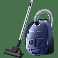 SIEMENS VS06A111 synchropower Staubsauger, maximale Leistung: 600 Watt, Moonlight blue/Schwarz)