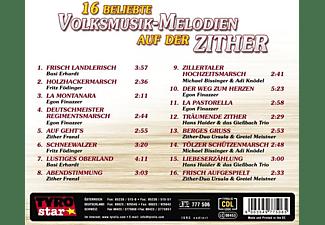 VARIOUS - 16 Beliebte Volksmusik-Melodien auf der Zither  - (CD)