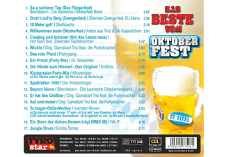 VARIOUS - DAS BESTE VOM OKTOBERFEST   Folge 2  - (CD)