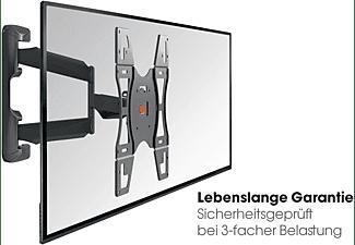VOGEL´S Vogel's BASE 45 S TV-Wandhalterung für 48-104 cm (19-40 Zoll) Fernseher, drehbar und neigbar, Wandhalterung, max. 37 Zoll, Schwenkbar, Ausziehbar, Neigbar, Schwarz