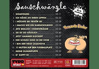 Sauschwänzle - Versaute Lieder-Absolutes Jugendverbot  - (CD)