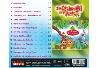 Die Dschungelkids - Im Dschungel Ist Die Party Los  - (CD)