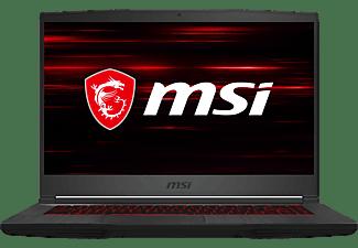 MSI GF63 THIN 10SCXR-1449, Gaming-Laptop mit 15,6 Zoll Display, Intel® Core™ i5 Prozessor, 8 GB RAM, 512 GB SSD, NVIDIA GeForce GTX 1650 Max-Q, Schwarz