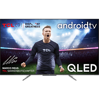 TCL 55AC710 QLED TV (Flat, 55 Zoll / 139 cm, QLED 4K, SMART TV, Android TV)