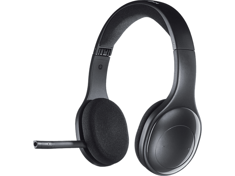 LOGITECH H800, On-ear Headset Bluetooth Schwarz