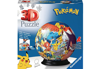 RAVENSBURGER Pokémon 3D Puzzle Mehrfarbig