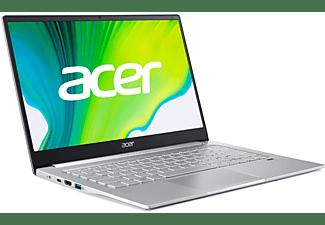 ACER Swift 3 (SF314-59-50CV), Notebook mit 14 Zoll Display, Intel® Core™ i5 Prozessor, 8 GB RAM, 1 TB SSD, Intel Iris Xe Graphics, Silber